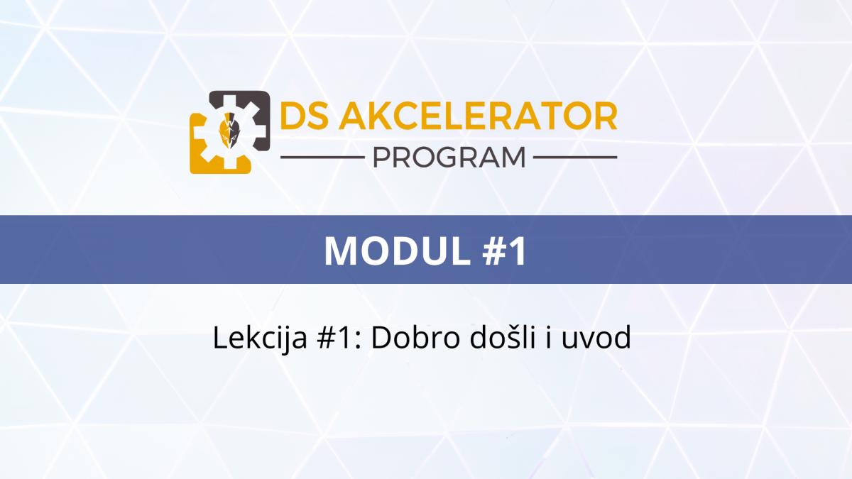 DS AP Modul1 Lekcija #1