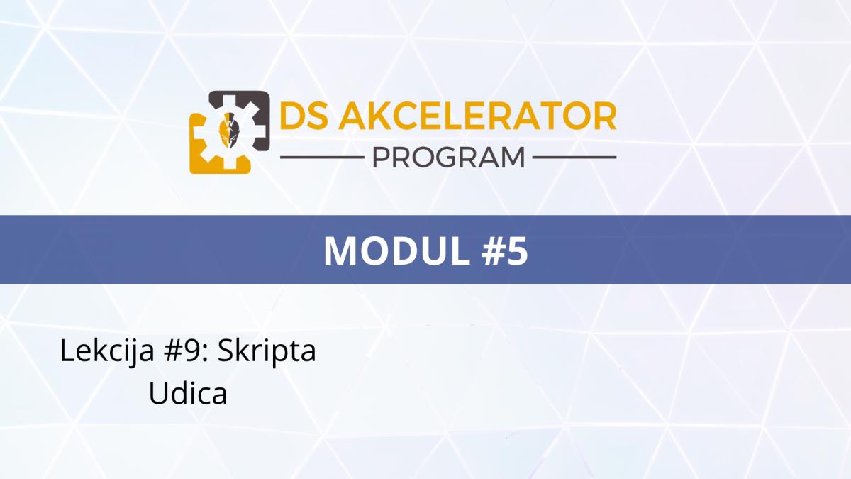 DS AP Modul5 Lekcija #9