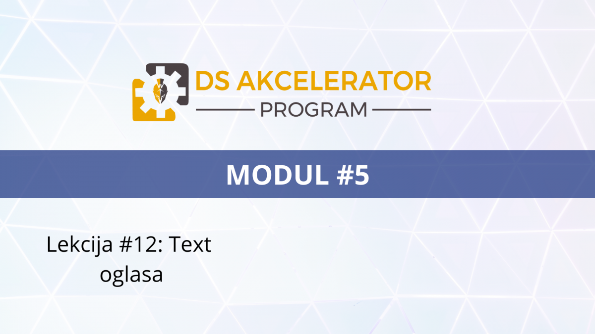 DS AP Modul5 Lekcija #12